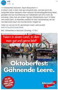 AfD und die Realität | http://www.muenchen.de/veranstaltungen/oktoberfest/oktoberfestnews/2017/bilanz-erstes-wiesn-wochenende-so-war-der-auftakt.html