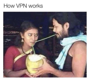 How VPN works.