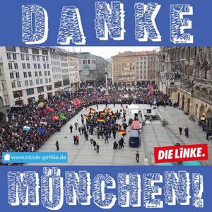 Danke München. | @die linke