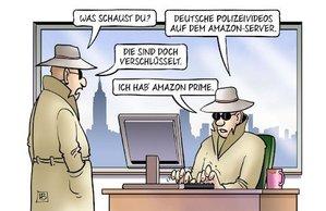 Polizei-Vdeos auf Amazon-Prime.