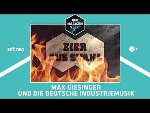 Eier aus Stahl: Max Giesinger und die deutsche Industriemusik   NEO MAGAZIN ROYALE