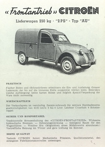 citreon 2cv au